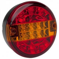 FEU LED ROND 3 FONCTIONS