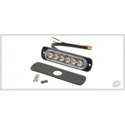 FEU FLASH 6 LED ORANGE ST6