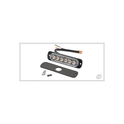 FEU FLASH 6 LED ORANGE ST6