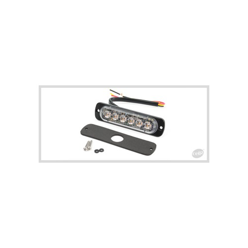 FEU FLASH 6 LED BLANC ST6