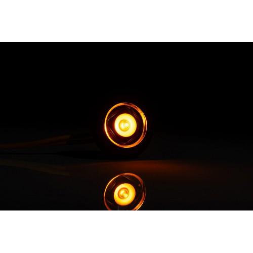 FEU ROND LED ORANGE