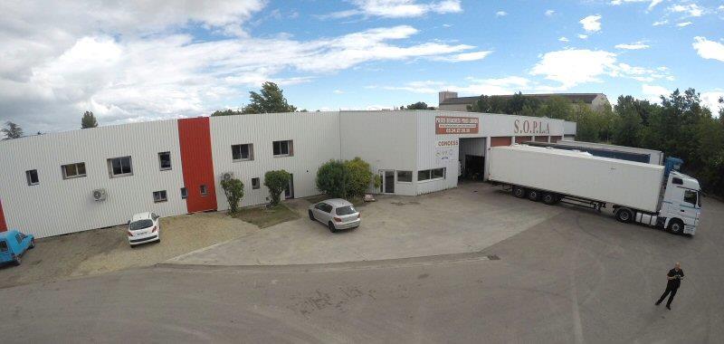 magasin et atelier Sopla - Sud Ouest Poids Lourds Assistance